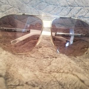 Authentic Tods square aviator sunglasses TO24